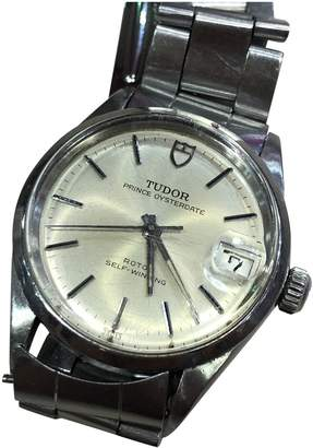 Tudor Vintage Classic Lady Silver Steel Watches
