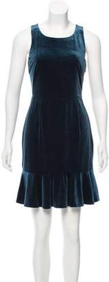 Rebecca Minkoff Velvet Knee-Length Dress