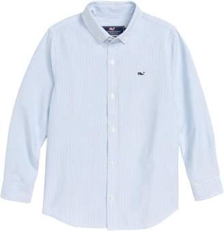 Vineyard Vines Fine Line Stripe Oxford Shirt