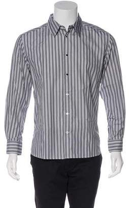 Saint Laurent Striped Dress Shirt
