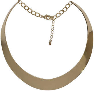 Bold Elements Womens Stainless Steel Collar Necklace