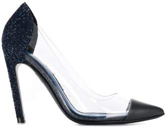 Diesel transparent panel pumps