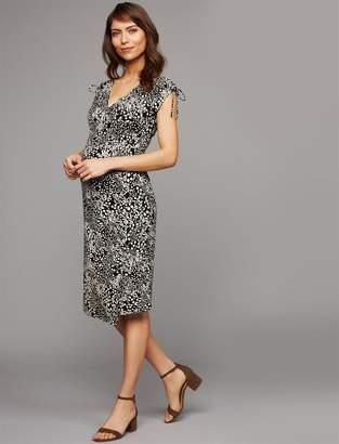 Isabella Oliver Ruched Maternity Dress