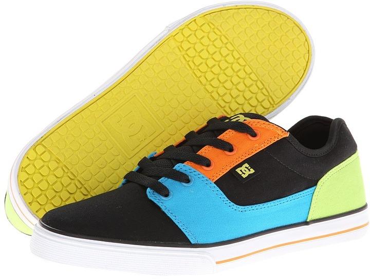 DC Kids Bristol Canvas (Black Multi) Boys Shoes