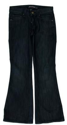 Raven Flared Low-Rise Jeans