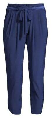 Ramy Brook Allyn Silk-Blend Pants