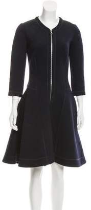 Christian Dior Wool Midi Dress
