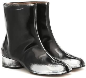 Maison Margiela Tabi faux leather ankle boots