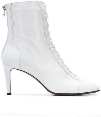 L'Autre Chose front zipped boots