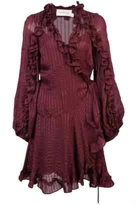 Zimmermann flared wrap dress