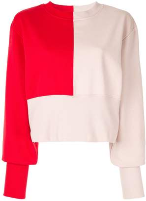 Vaara Maeve bi-colour sweatshirt