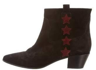 Saint Laurent Wyatt Star Ankle Boots