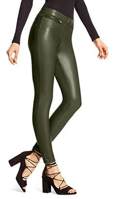 Hue Women's Leatherette Leggings