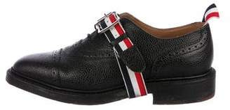 Thom Browne Leather Cap-Toe Brogues