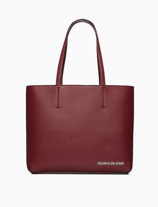 Calvin Klein ultra light zip tote bag