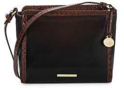 Brahmin Carrie Leather Crossbody Bag
