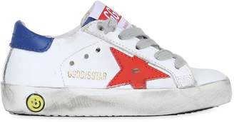 Golden Goose Super Star Color Block Leather Sneakers