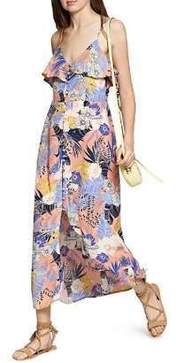 Sanctuary Isabella Button-Front Maxi Slip Dress