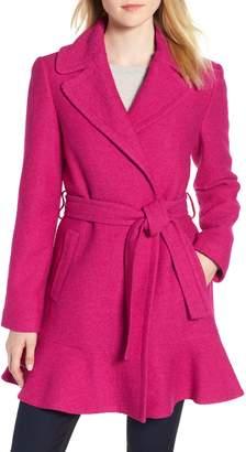 Kate Spade Skirted Wrap Coat
