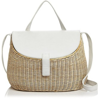 Zacarias Creel Wicker Shoulder Bag $275 thestylecure.com