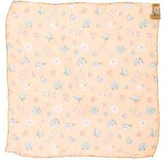Saks Fifth Avenue Silk Floral Print Scarf