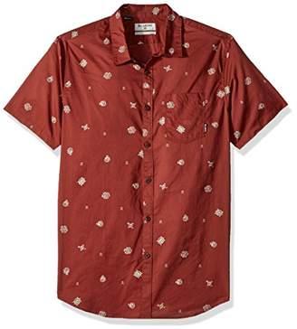 Billabong Men's Sunday Mini Short Sleeve Shirt