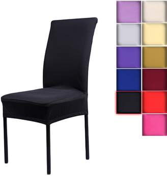 LianLe Soft&Fashionable Spandex Chair Cover Dining Room Chair Seat Covers Wedding Banquets Party Chair Cover