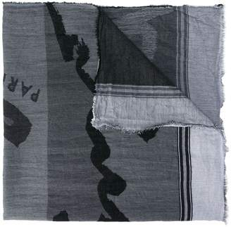 Kenzo printed scarf