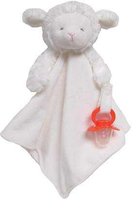 Carters Carter's Lamb Plush Security Blanket with Pacifier Clip $18 thestylecure.com