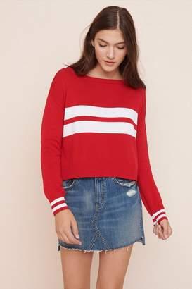 Garage Midi Crew Neck Sweater