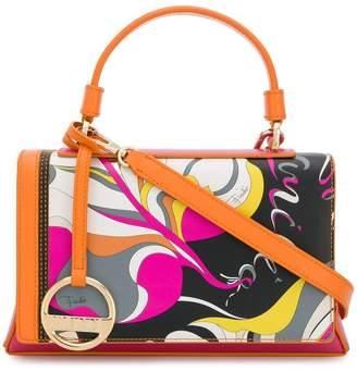Emilio Pucci printed small satchel