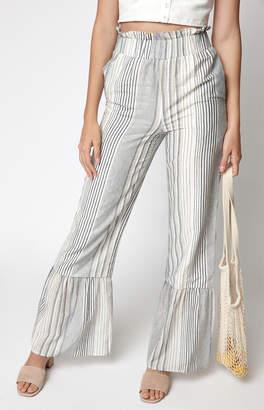 Lucca Couture Cheyenne Ruffle Hem Pants