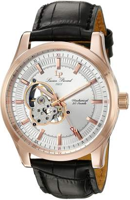 Lucien Piccard Men's 40006M-RG-02S Morgana Analog Display Mechanical Hand Wind Black Watch