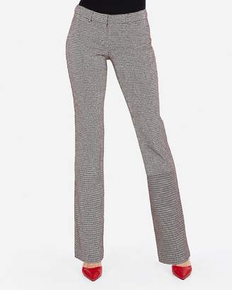 Express Low Rise Micro Diamond Barely Boot Editor Pant