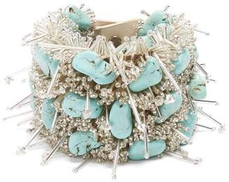 Toga Bead and turquoise-embellished bracelet