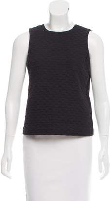 Theory Sleeveless Textured Top