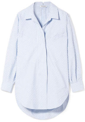 Opening Ceremony Cotton-blend Jacquard Shirt - Blue