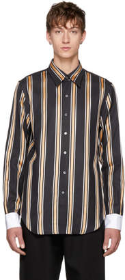Acne Studios Black Code Wax Shirt