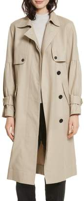 Joie (ジョア) - Joie Alwena Cotton Trench Coat
