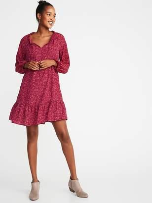 Old Navy Ruffled Georgette Swing Dress for Women