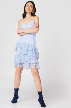 Endless Rose Strappy Ruffled Dress