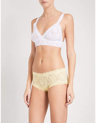 Hanky Panky Signature lace non–wired bra