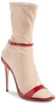 Women's Gucci Ilse Sock Sandal $1,190 thestylecure.com