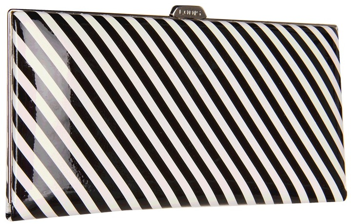 Lodis Noho Quinn Clutch Wallet with Cell Pocket (Black) - Bags and Luggage