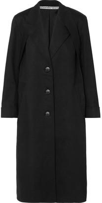 Alexander Wang Studded Cotton-blend Twill Coat - Black