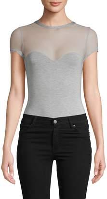 Felina Illusion Heathered Bodysuit