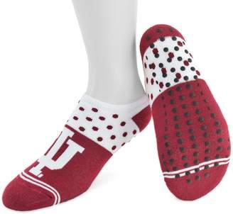 NCAA Women's Mojo Indiana Hoosiers Speckled No-Show Grip Socks