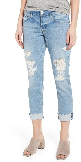 Women's Hudson Jeans Riley Crop Relaxed Straight Leg Jeans