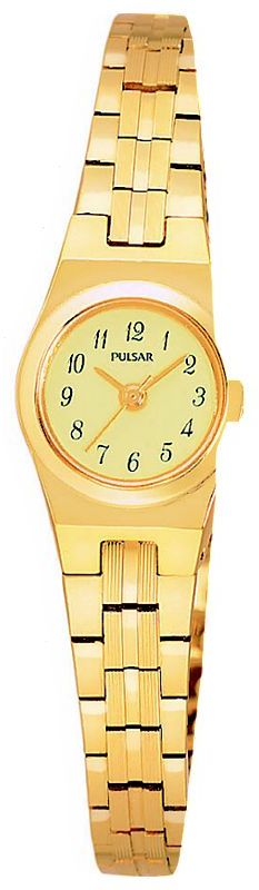 Pulsar® gold watch