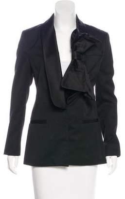 Prabal Gurung Wool & Cashmere-Blend Blazer